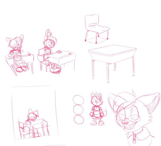Sqrl - Maff At School (sketches)